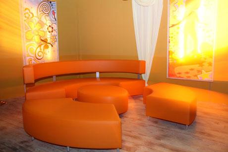 Sofa rund oval  sofas - GO-HORECA